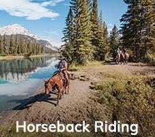 Banff Horseback vacation