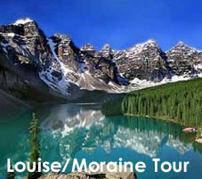 Lake Louise and Moraine Tour