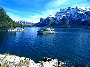 Lake Minnewank Banff Boat Cruise