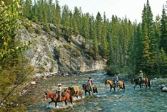 Holiday on Horseback Rides in Banff