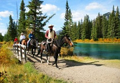 Horseback Riding in Banff National Park