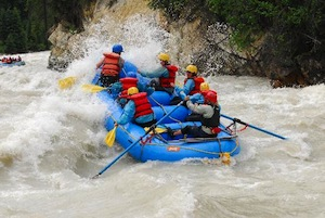 Whitewater Rafting on the Kicking Horse River